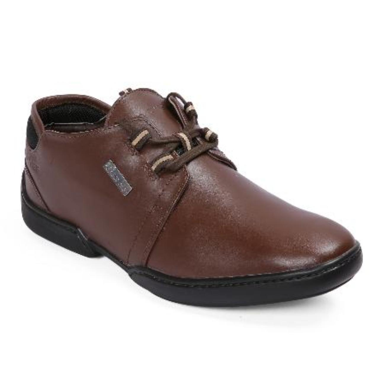 brown casual leather shoes online