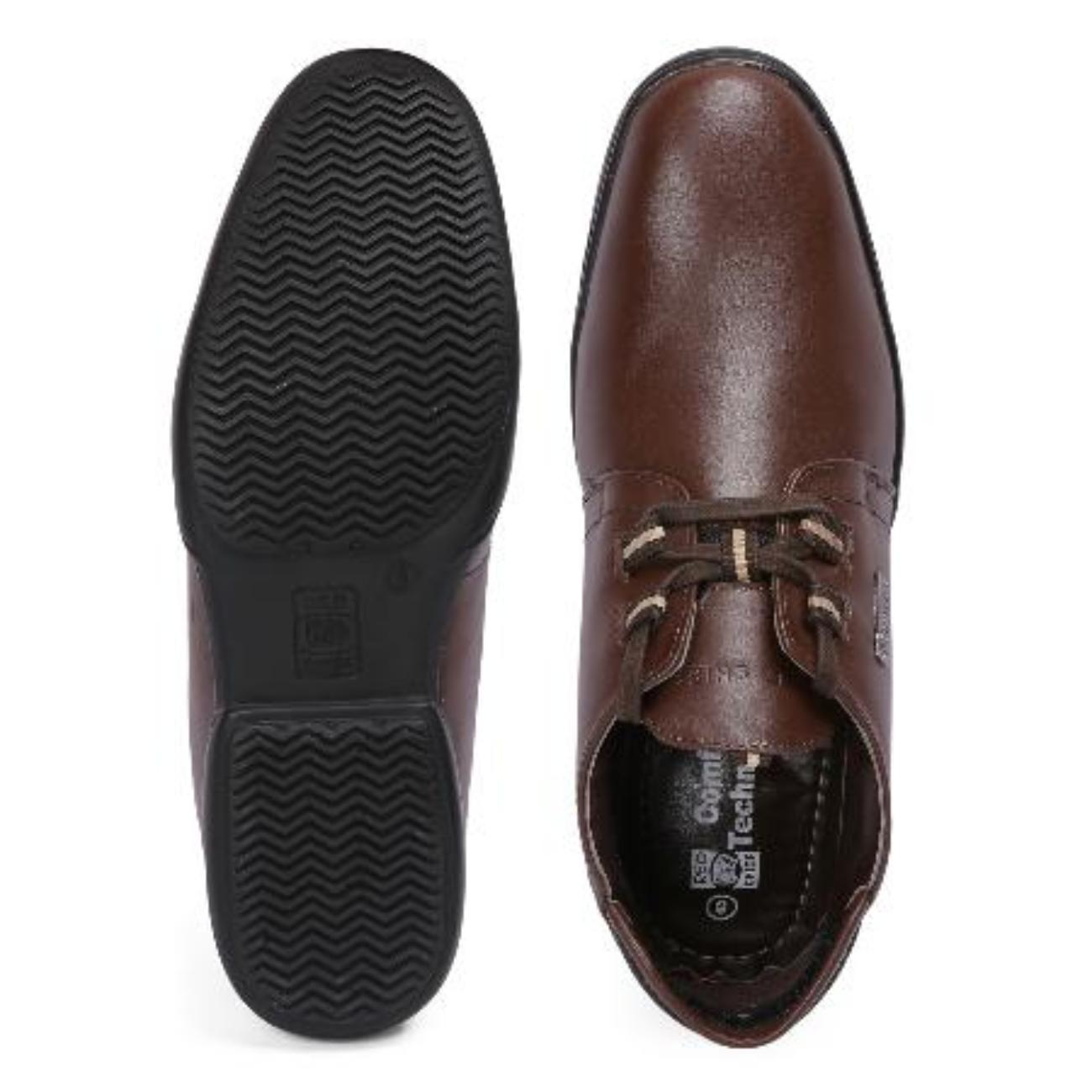 brown original casual leather shoes