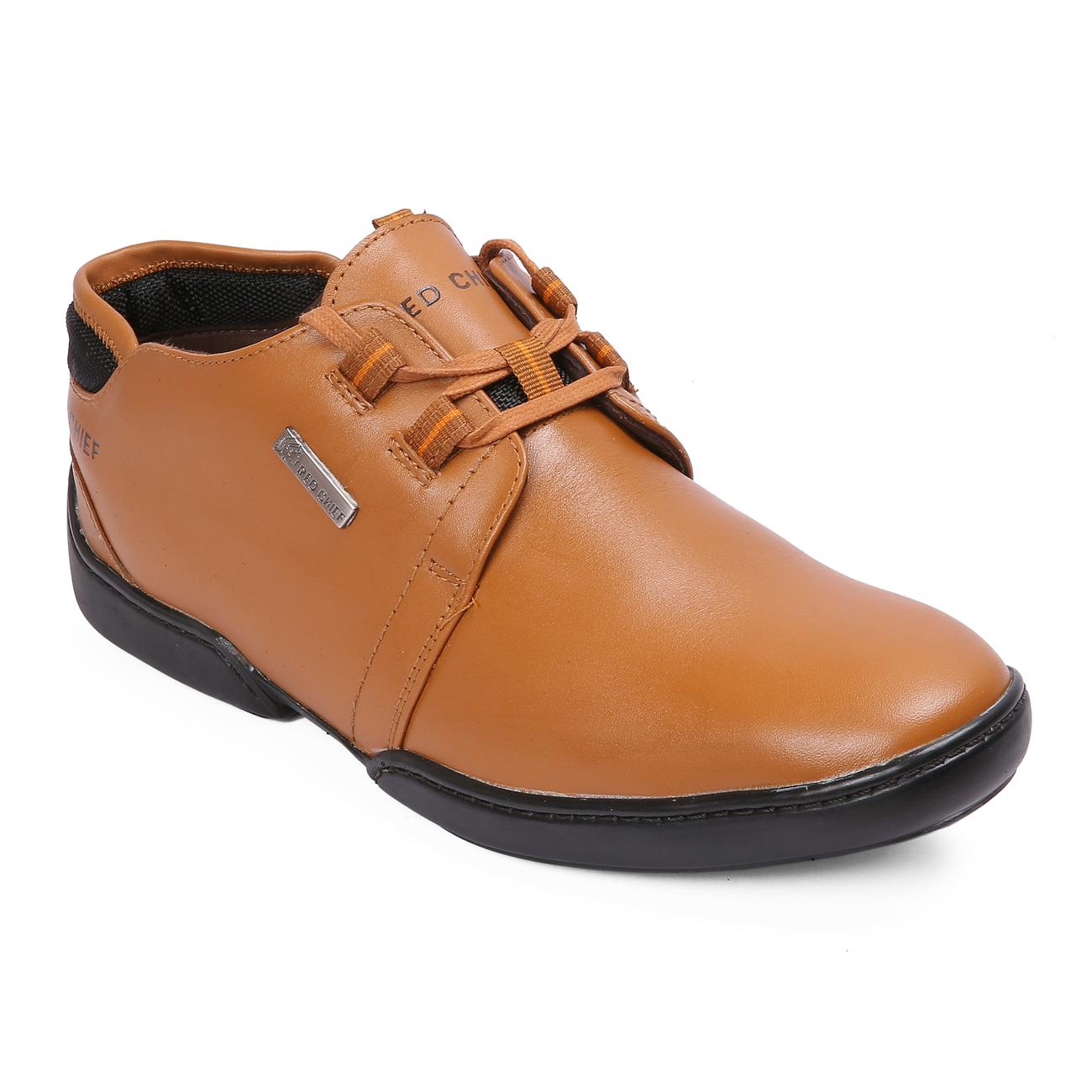 n tan casual leather shoes online