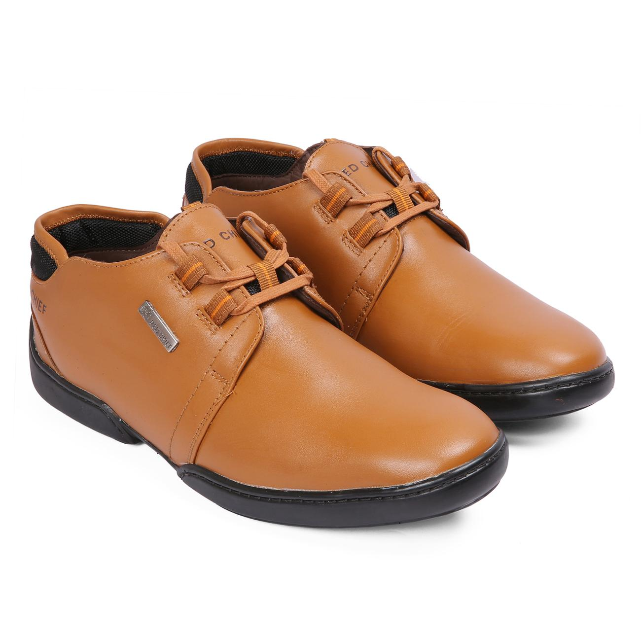 n tan original casual leather shoes