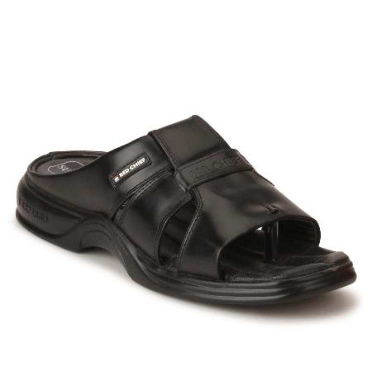 black slip-on slippers online