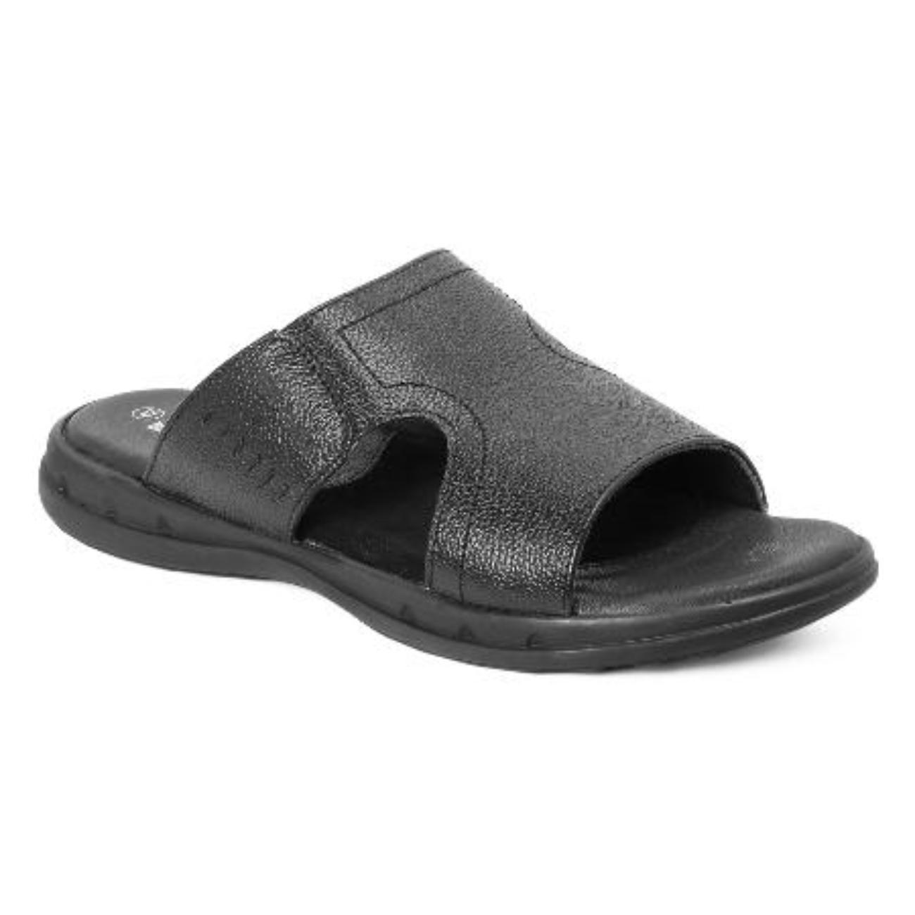 black slip-on sandals online