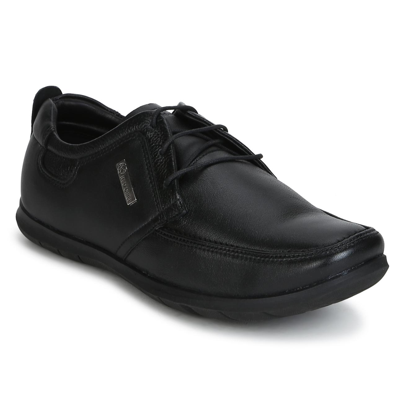 black leather lace up formal shoes online