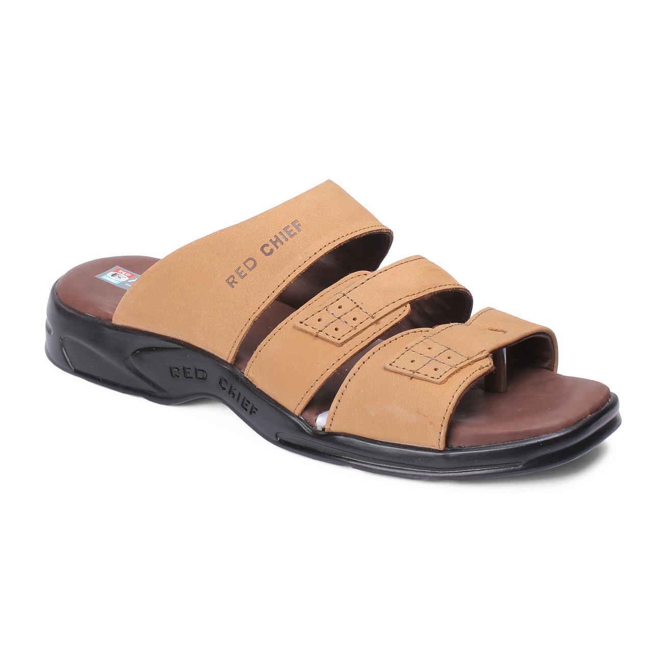 rust slip-on slippers online