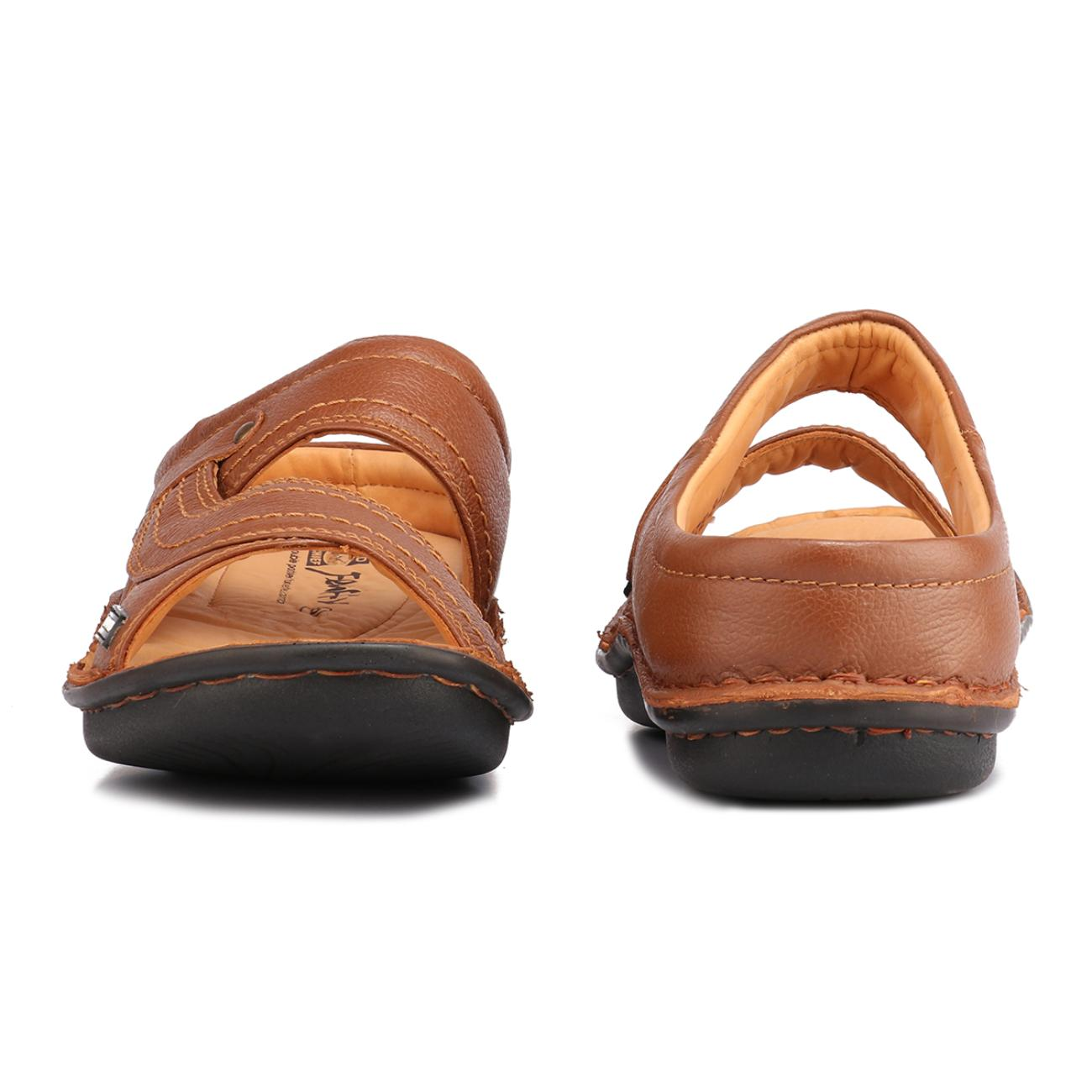 tan slip-on slippers side view_2