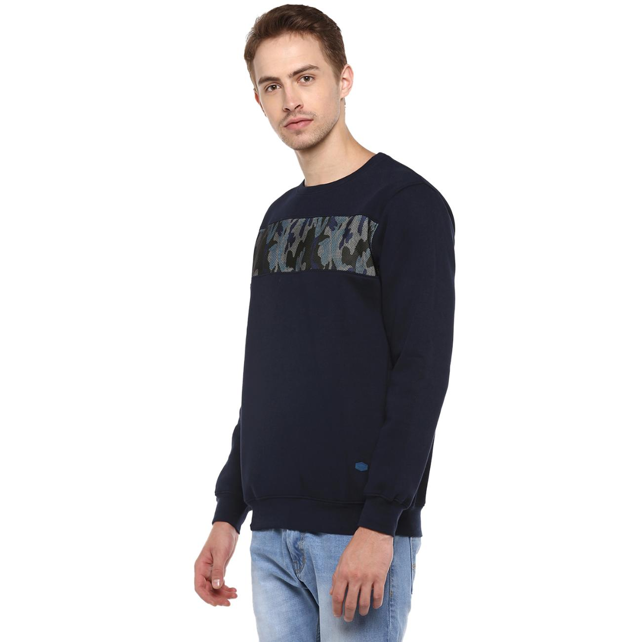 Purchase Red Chief's Navy Printed Sweater