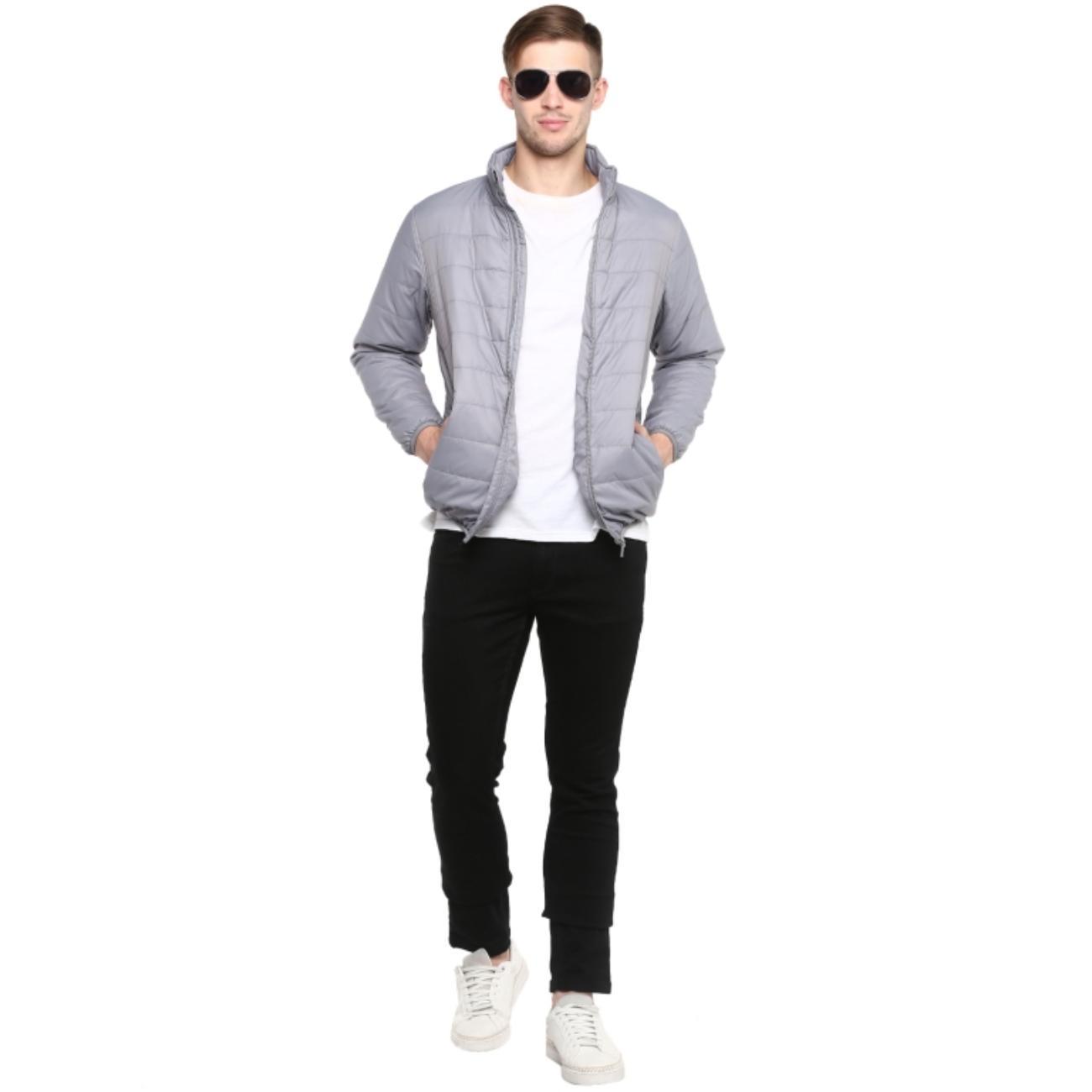 Buy Men's Light Gray Jacket