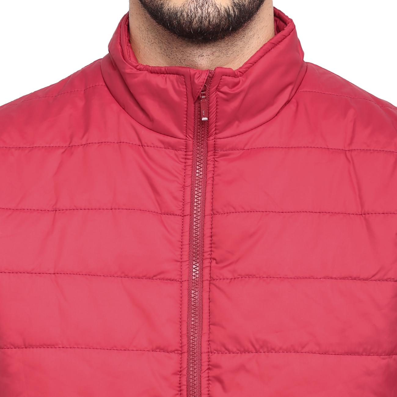Buy Red Chief Men's Red Jacket