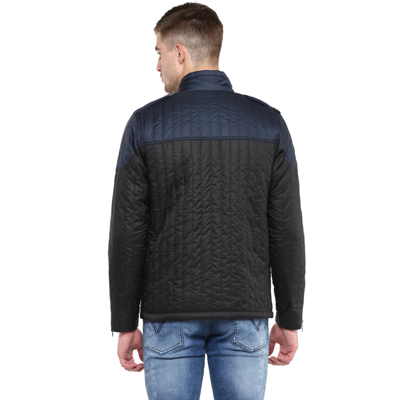 Black Navy Jacket for Men at Red Chief
