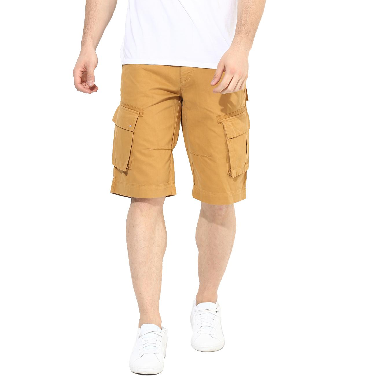 Red Chief Beige Shorts for Men