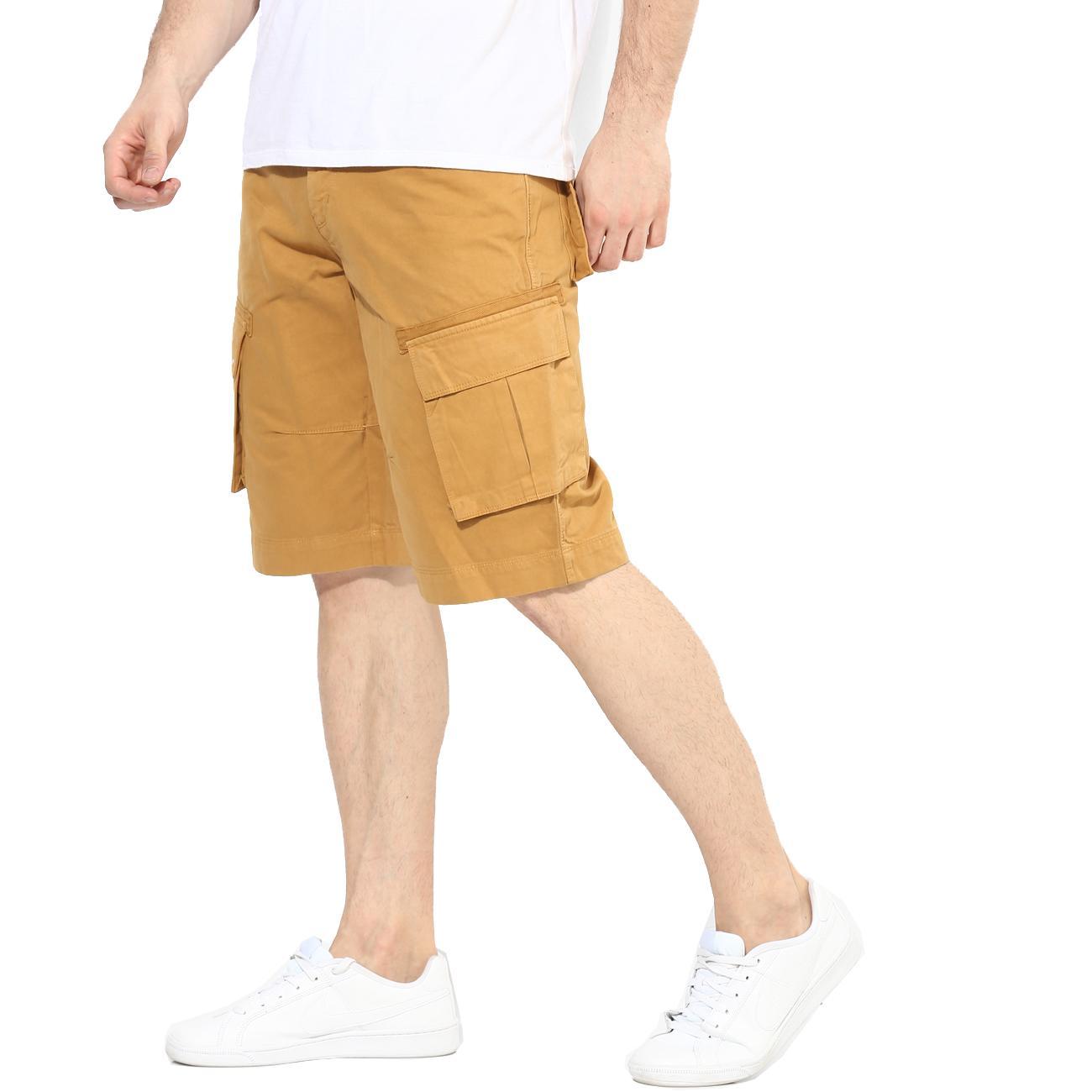 Red Chief Beige Shorts for Men Online