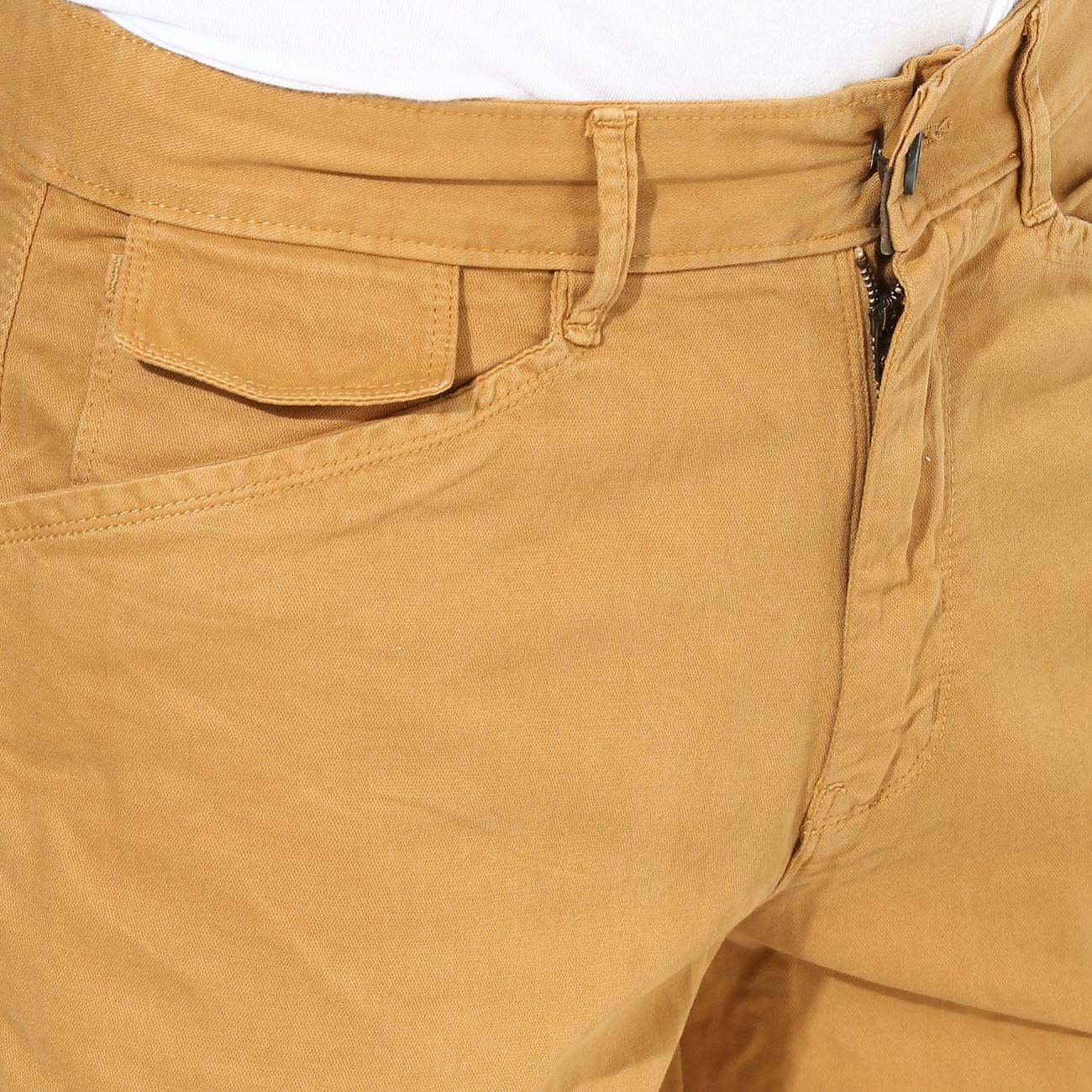 Men's Red Chief Beige Shorts