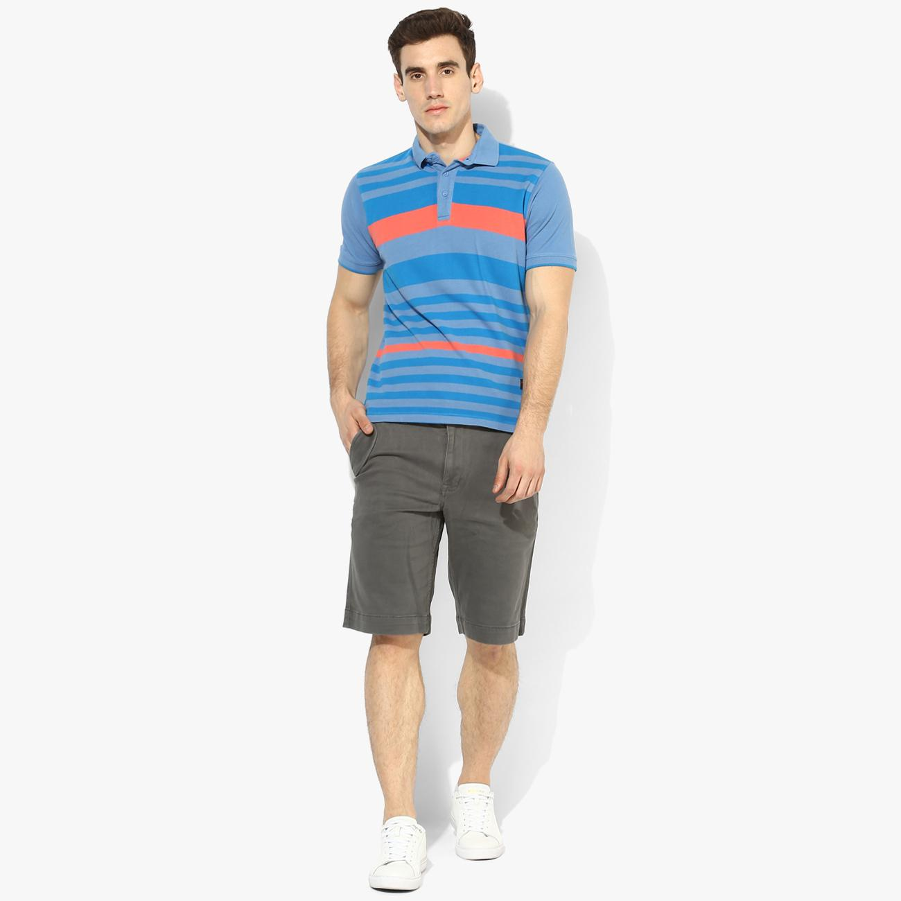 Gray Shorts for Men at Red Chief