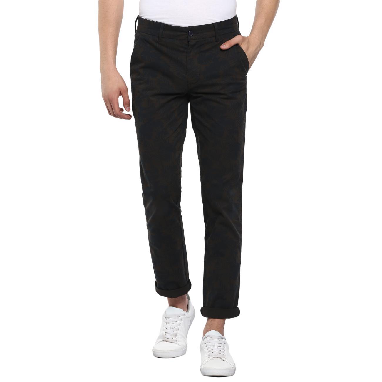 Buy Olive/Black Trouser Online