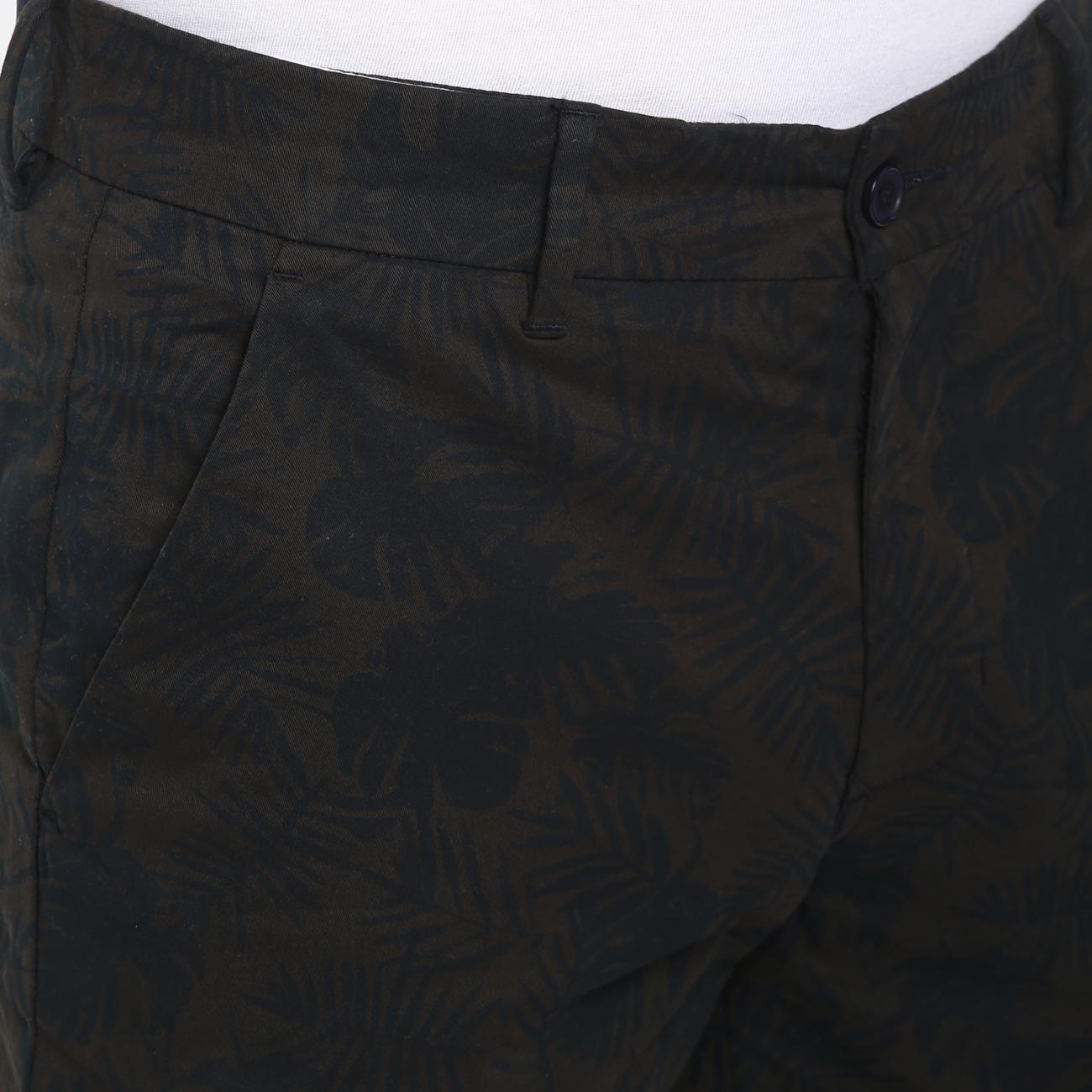 Men's Olive/Black Trouser Online