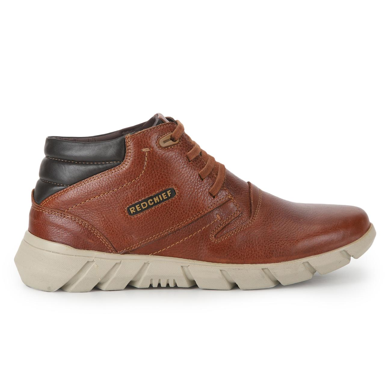 tan casual derby shoes side view_2