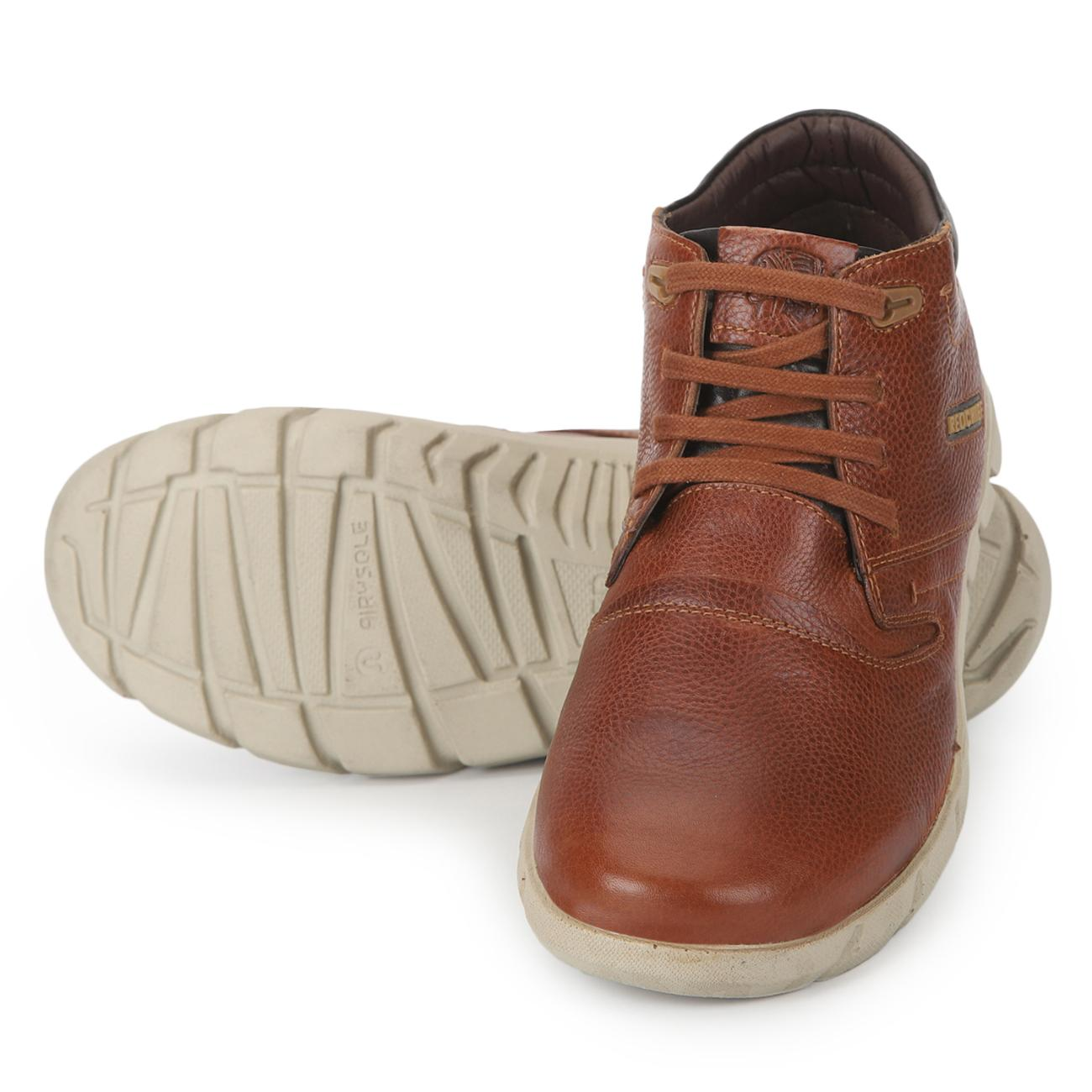 tan original casual derby shoes