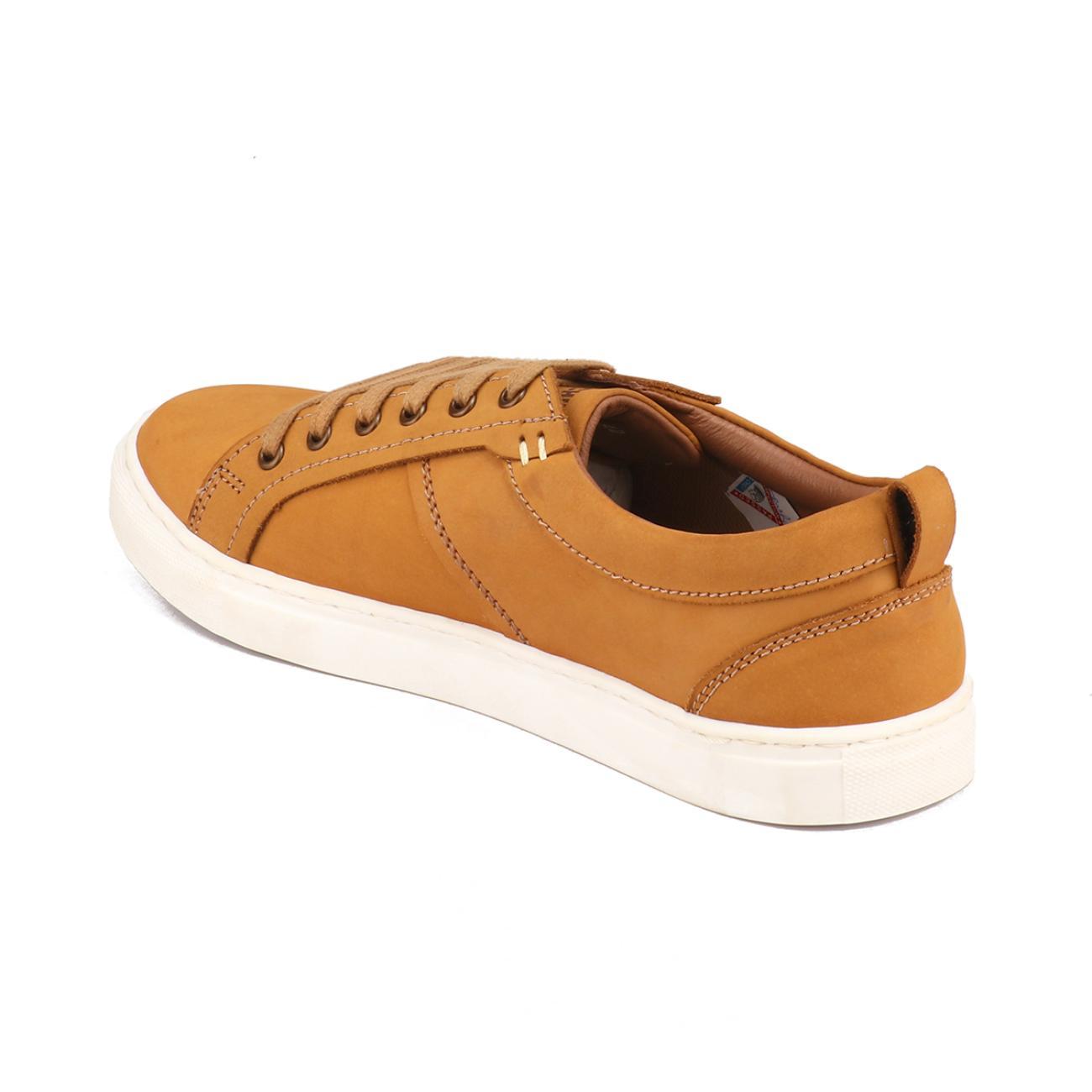 buy rust casual sneakers side view_1