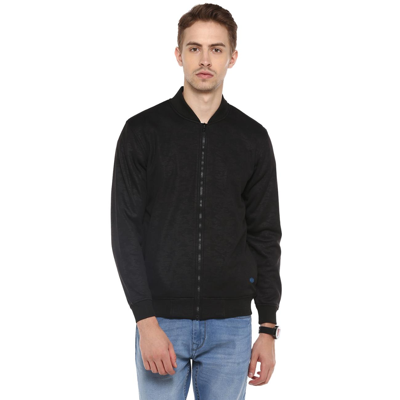 Buy Men's Black Bomber Jacket