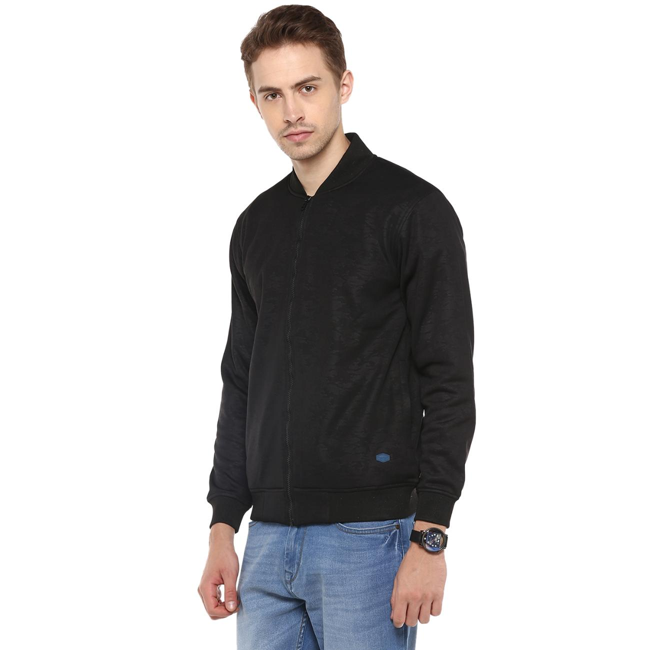 Red Chief's Black Zipper Bomber Jacket