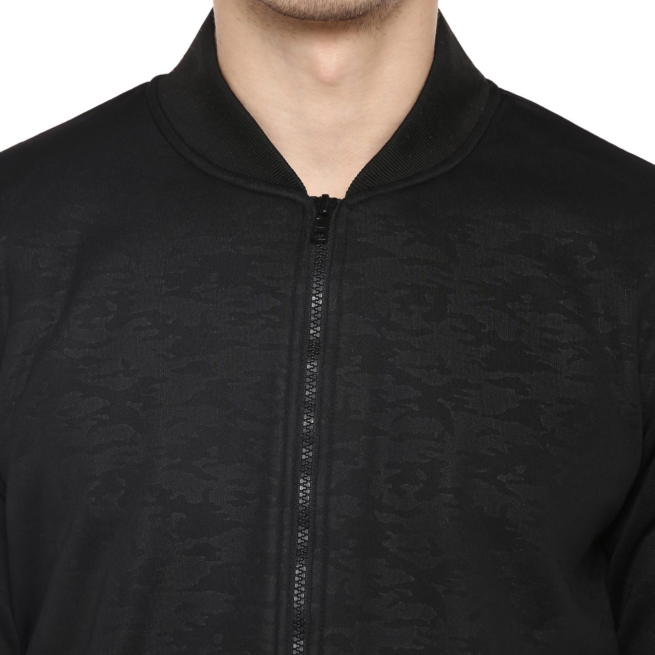 Black Bomber Jacket for Men Online