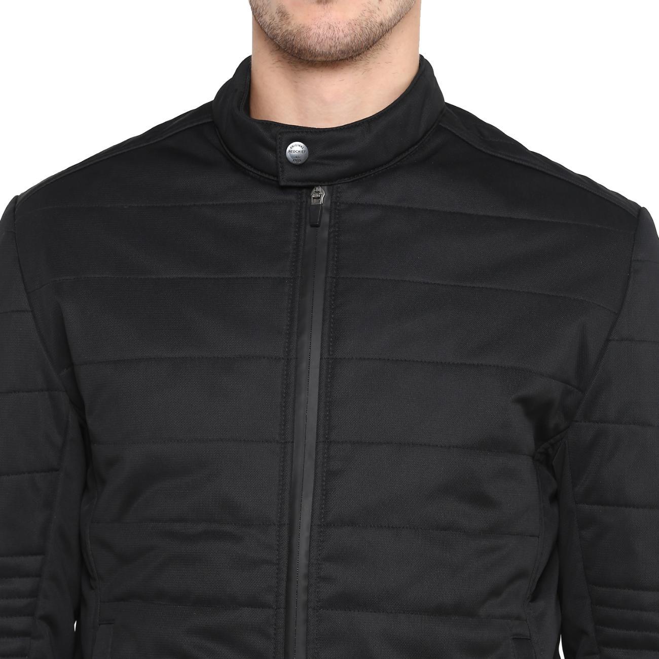 Men's Black Biker Jacket Online