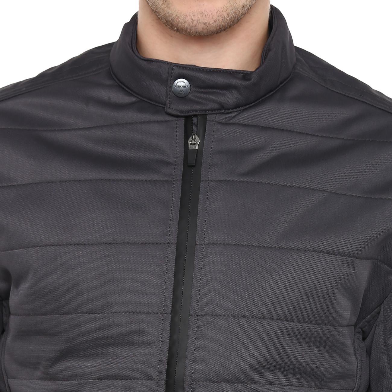 Purchase Dark Grey Biker Jacket Online