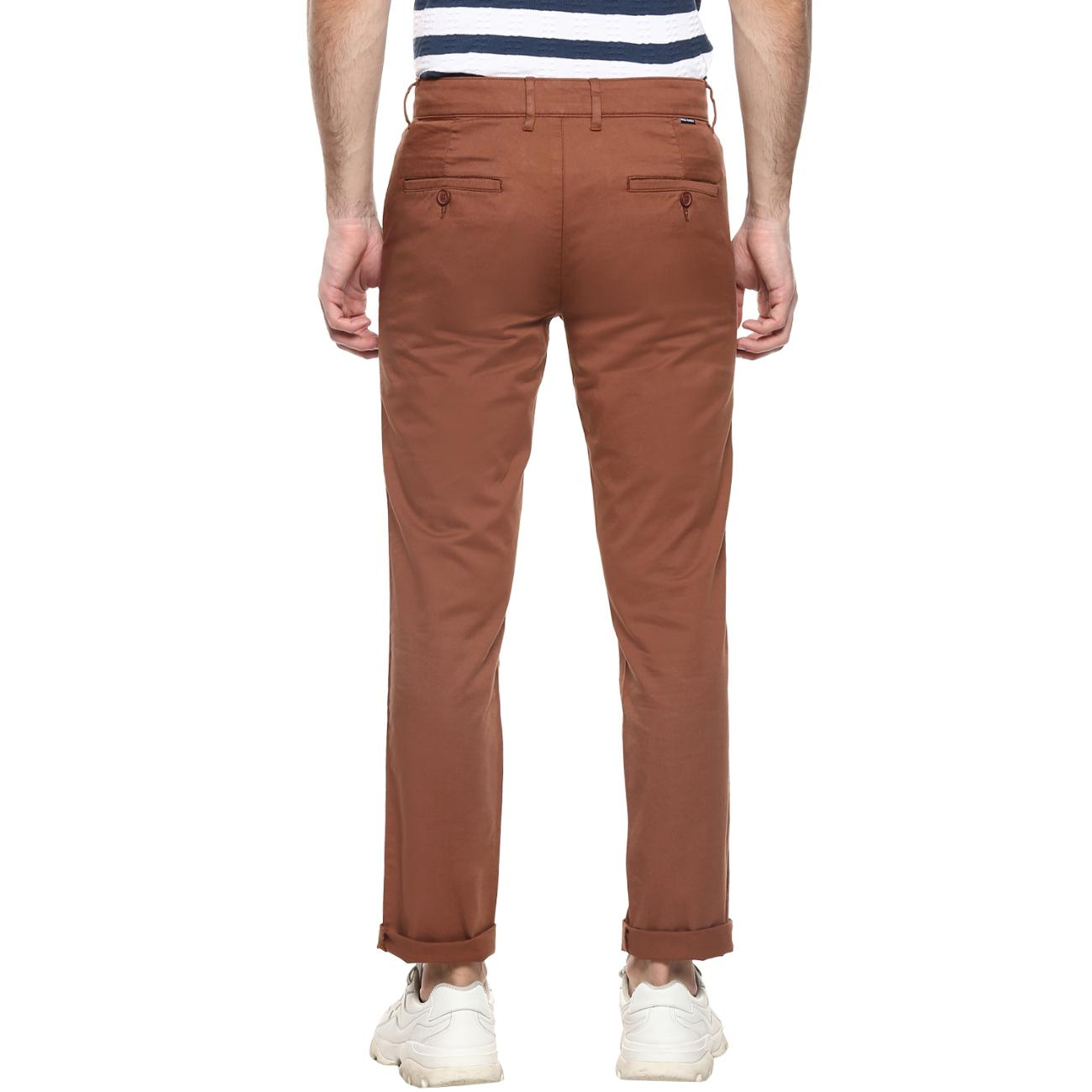 Red Chief Online Marron Narrow Trouser
