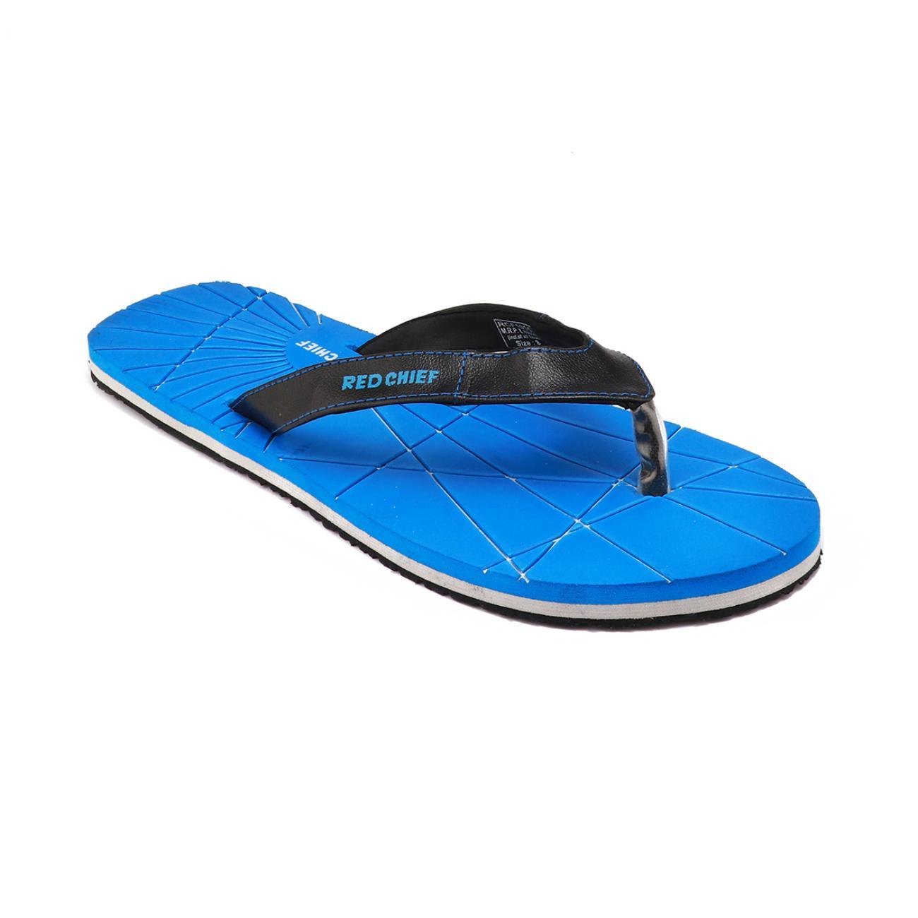 blue men's flip flop online