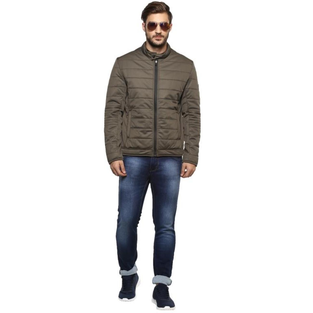 Men's Olive Jacket at Red Chief