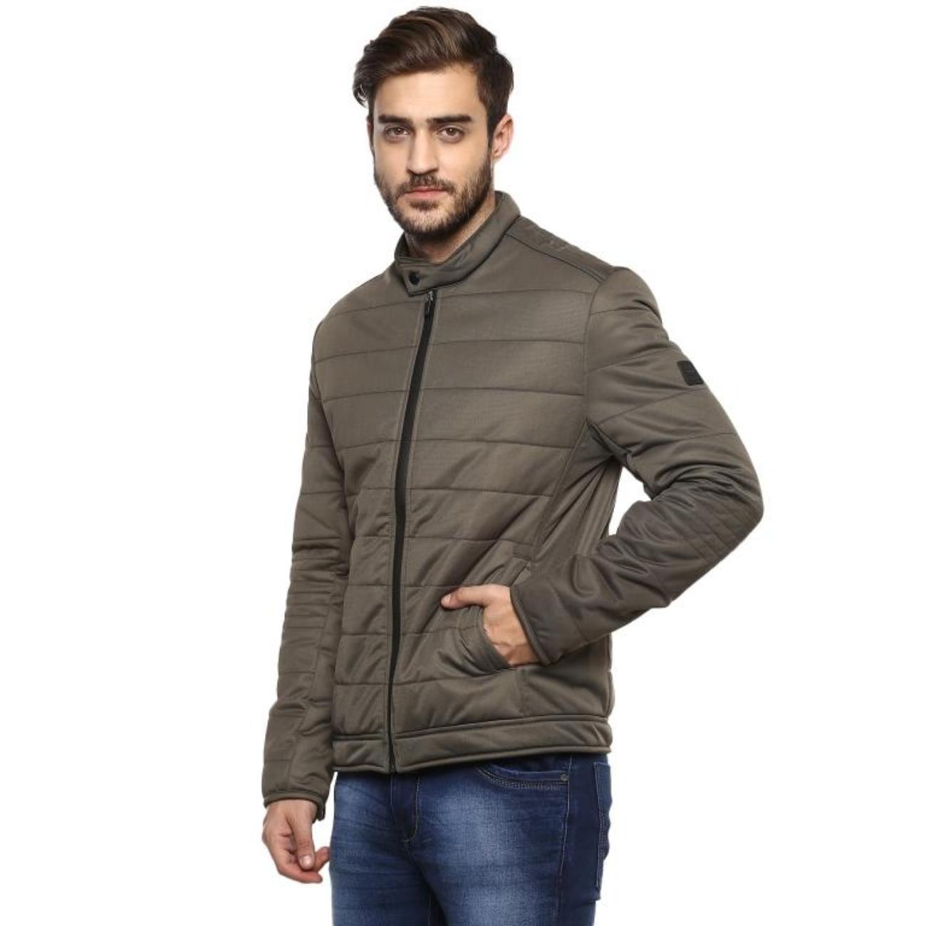 Shop Olive Jacket for Men Online