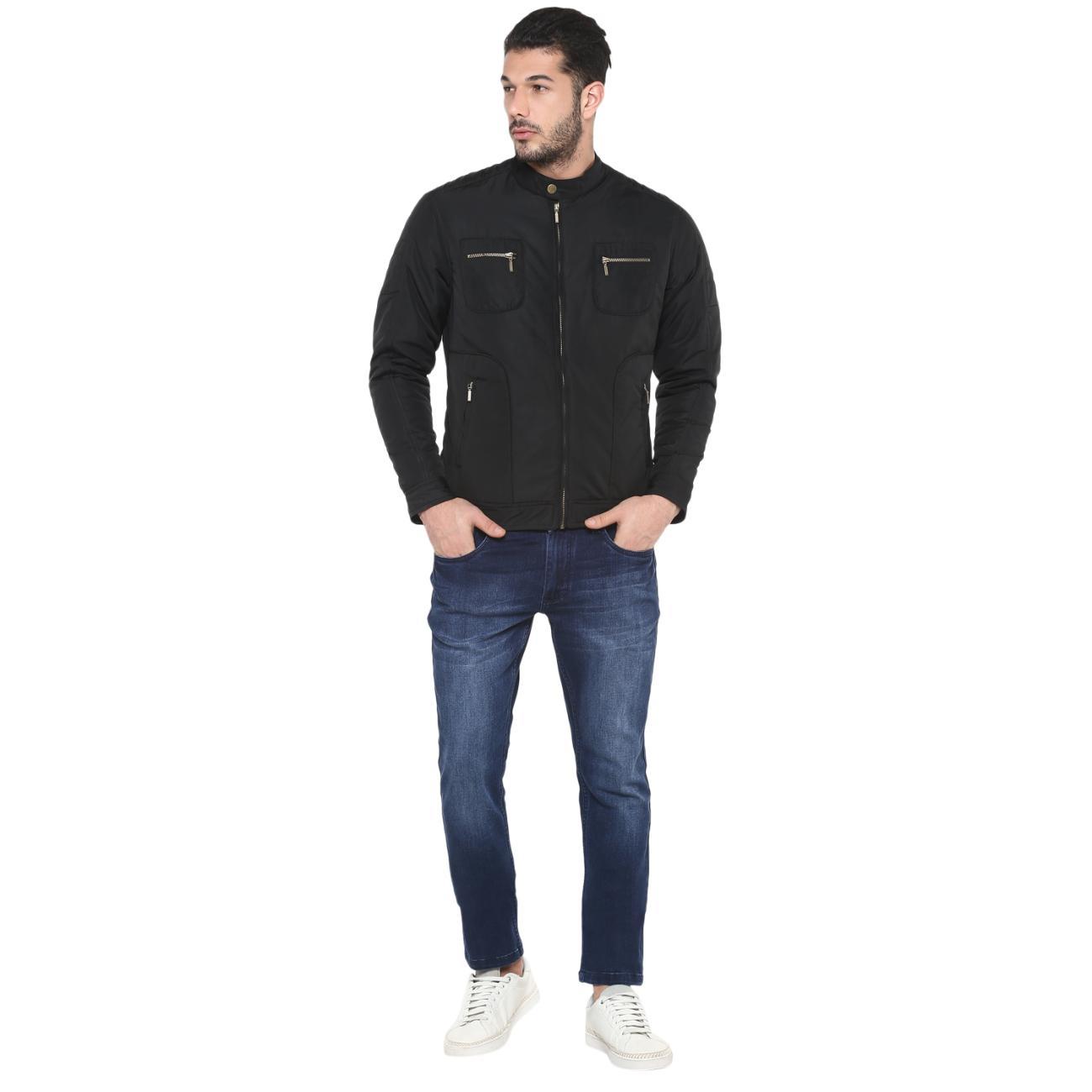 Men's Black Jacket Online