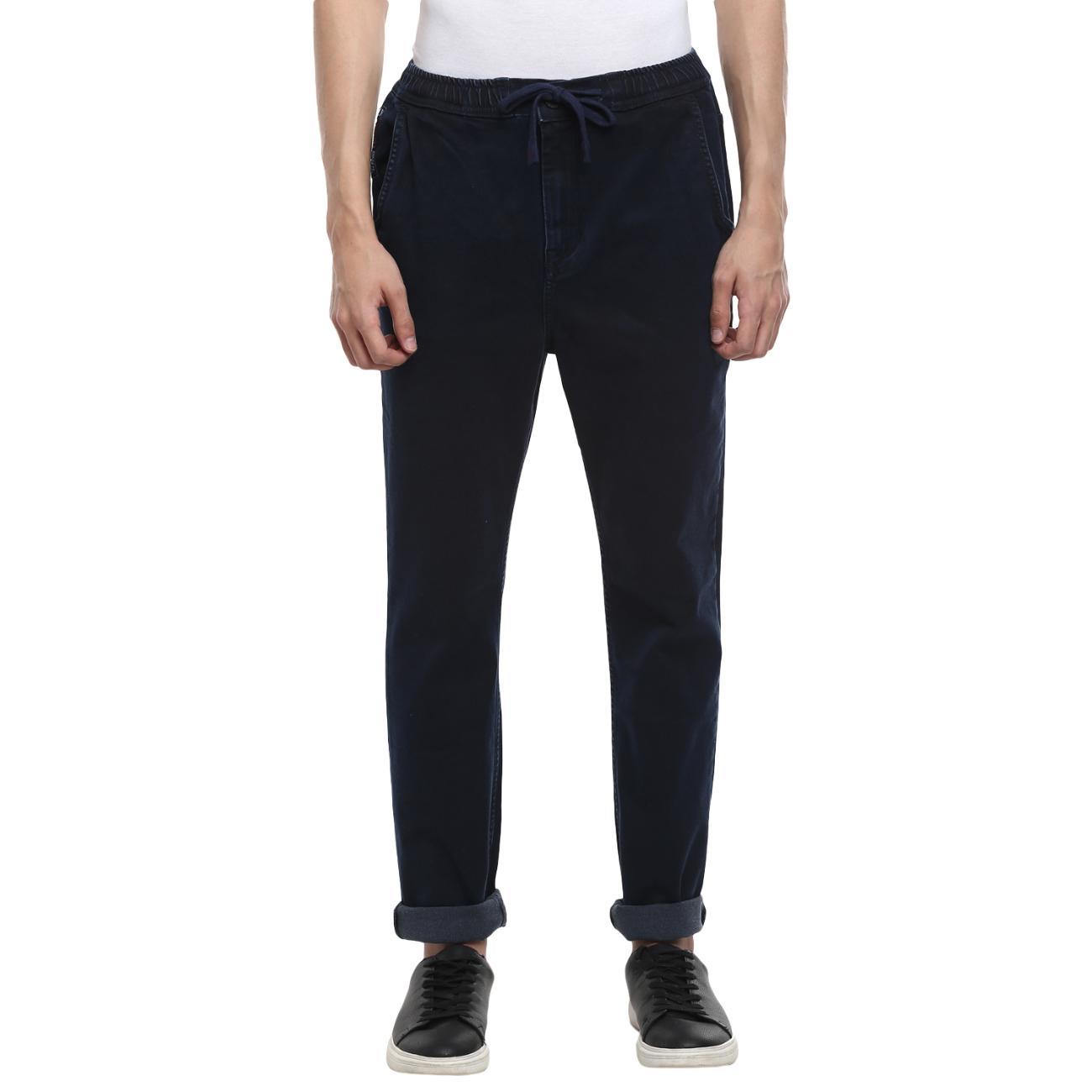Buy Blue Narrow Jeans For Men