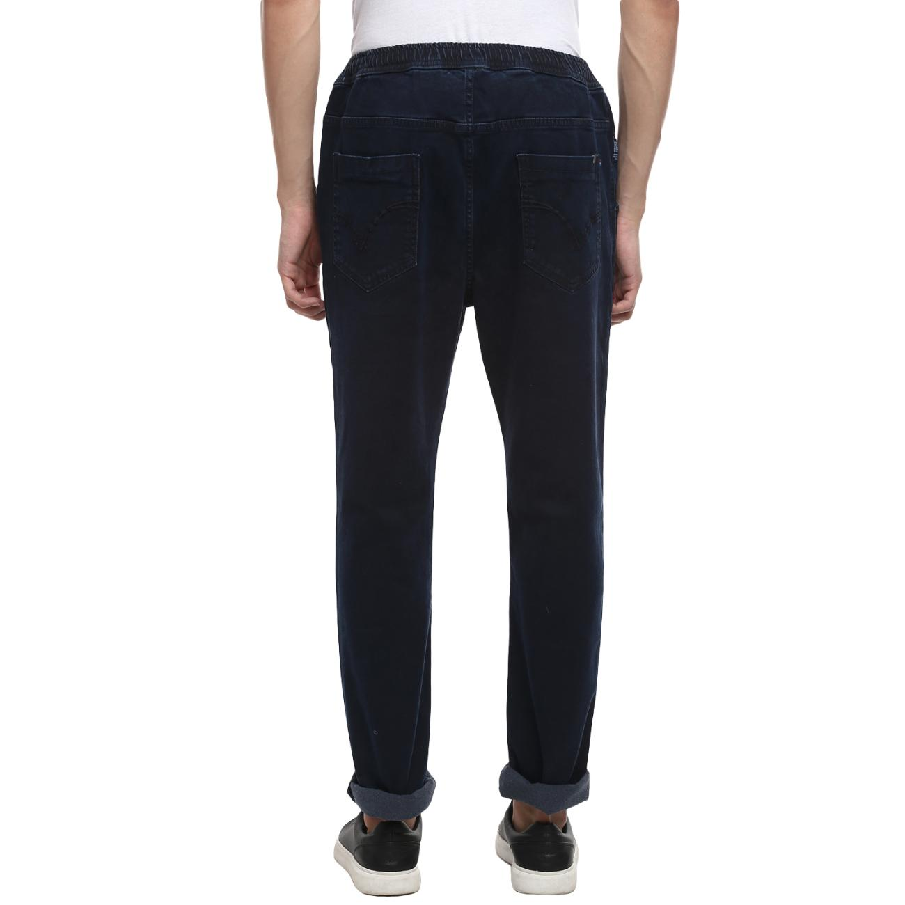 Online Blue Narrow Jeans For Men