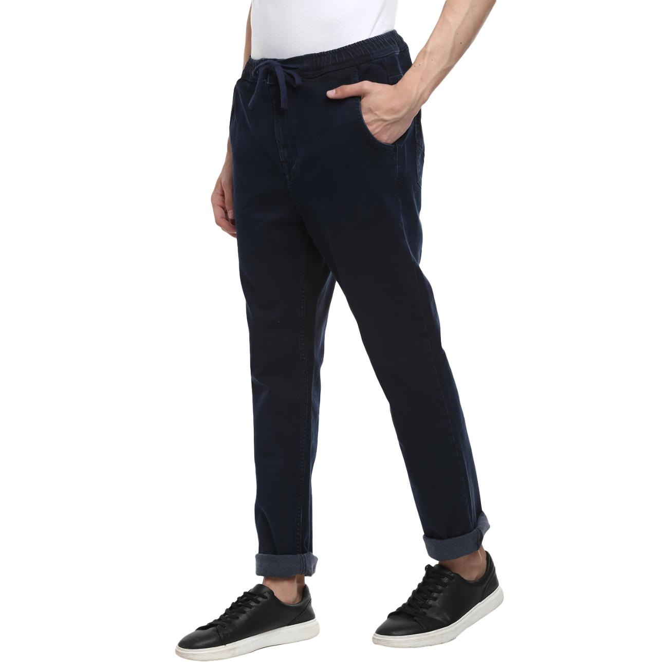Blue Narrow Jeans For Men at Red Chief