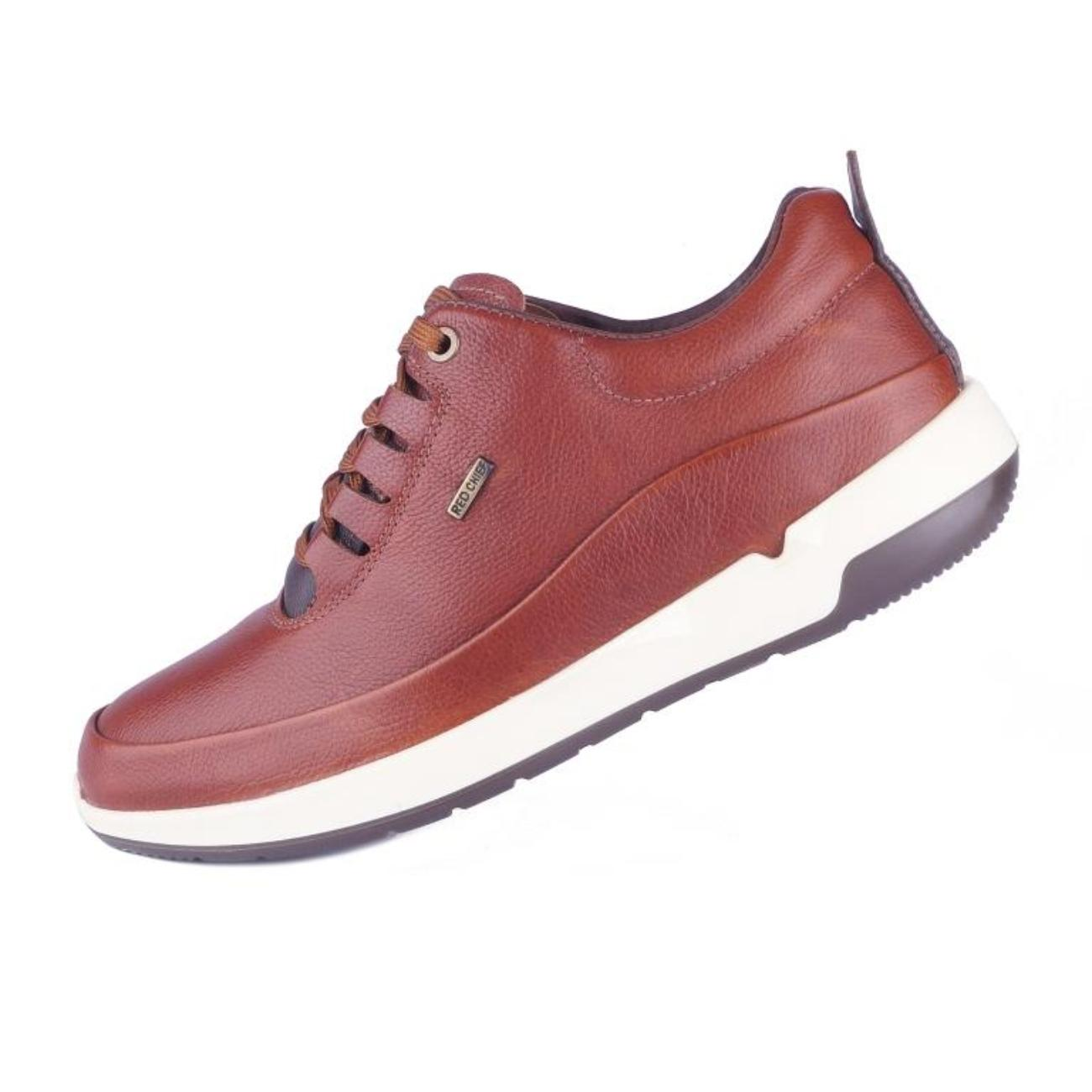 buy brown casual shoes side view_1