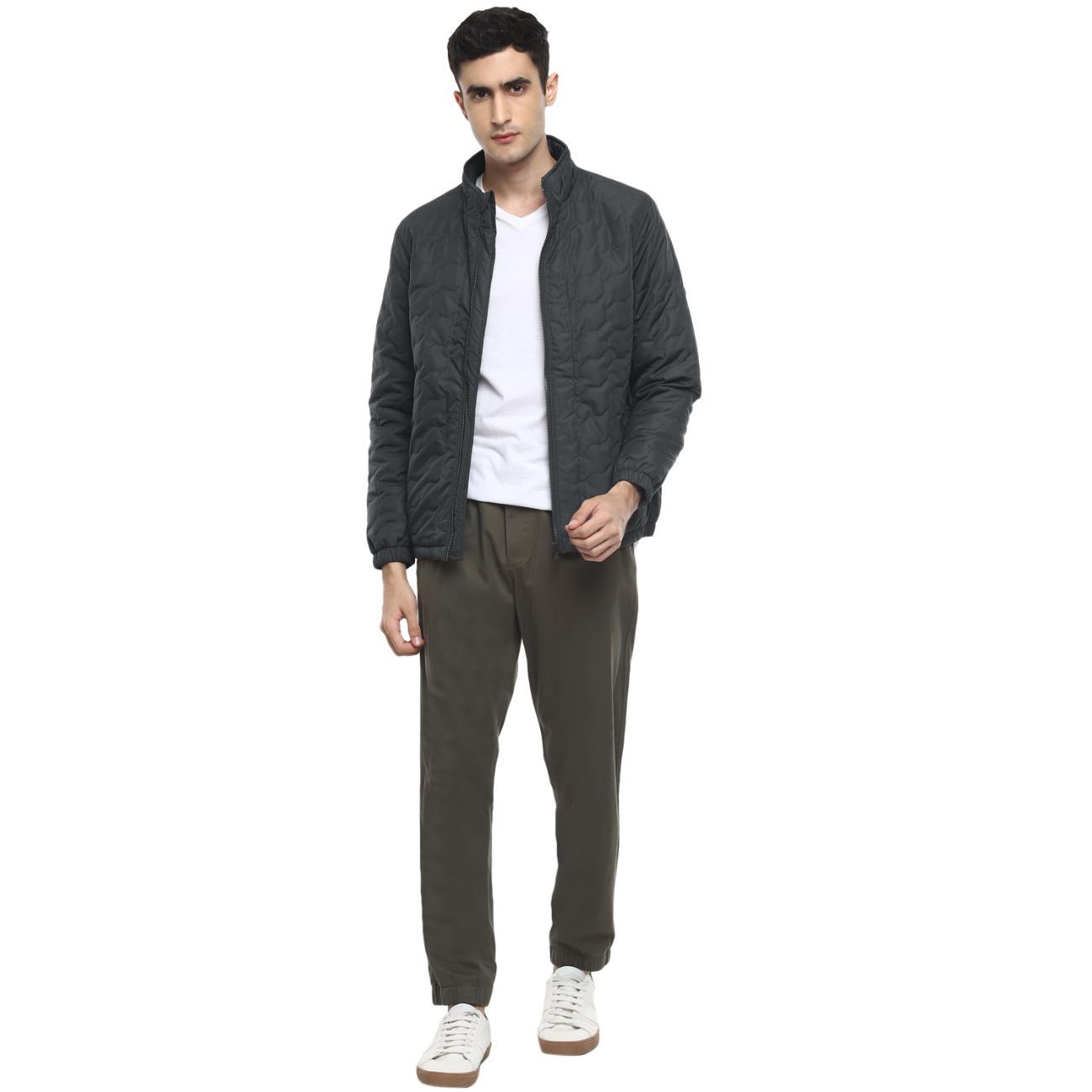 Men's Grey Jacket Online at Red Chief