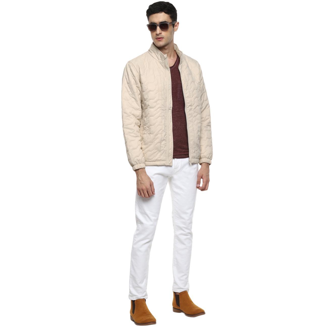 Men's Cream Jacket Online