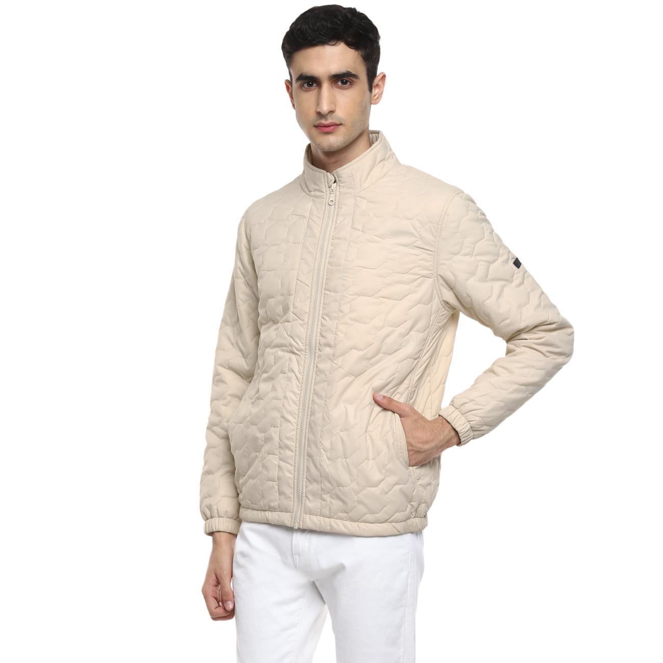 Men's Cream Jacket Online at Red Chief