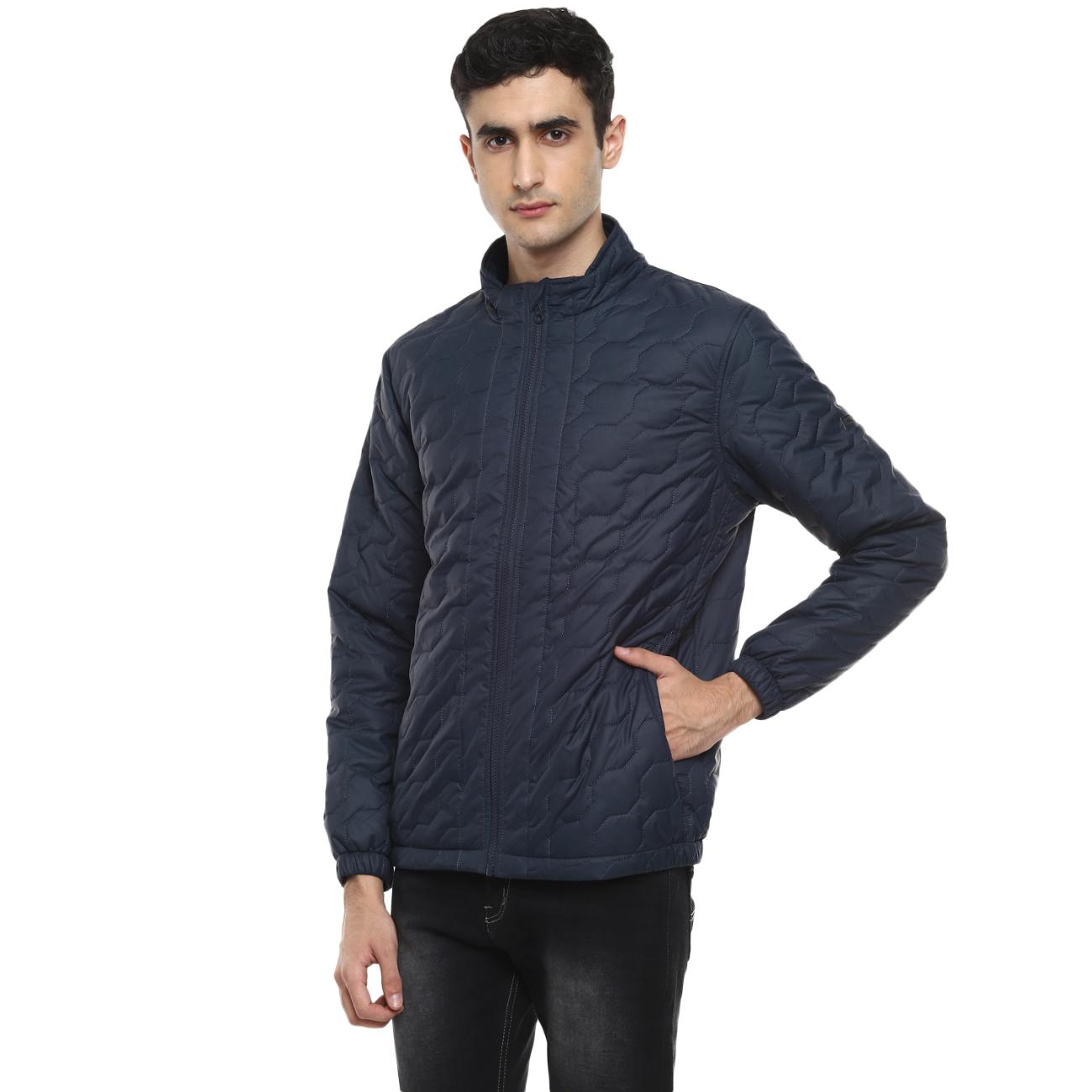 Red Chief's Navy Jacket For Men