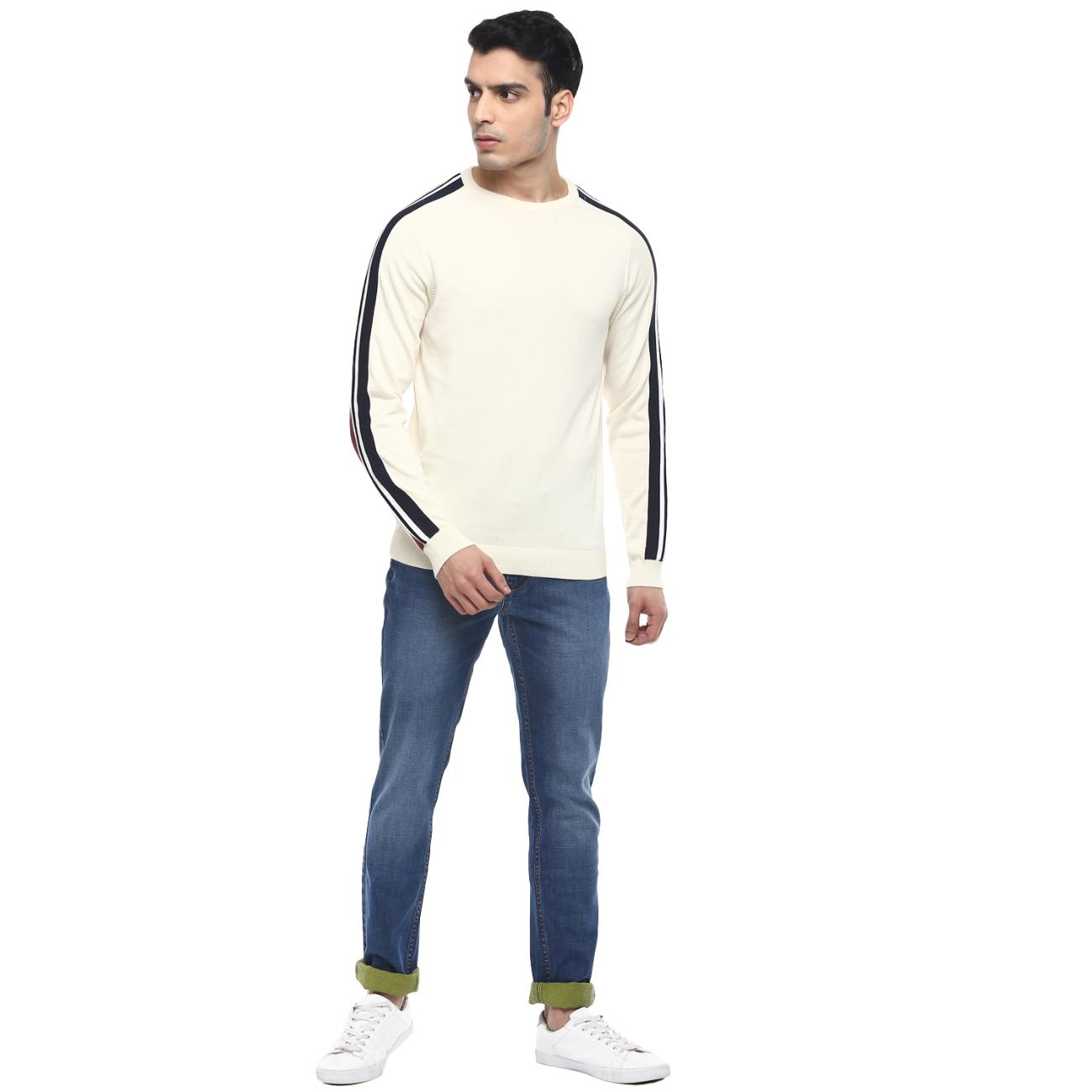 Shop Casual Off-white Sweater for Men