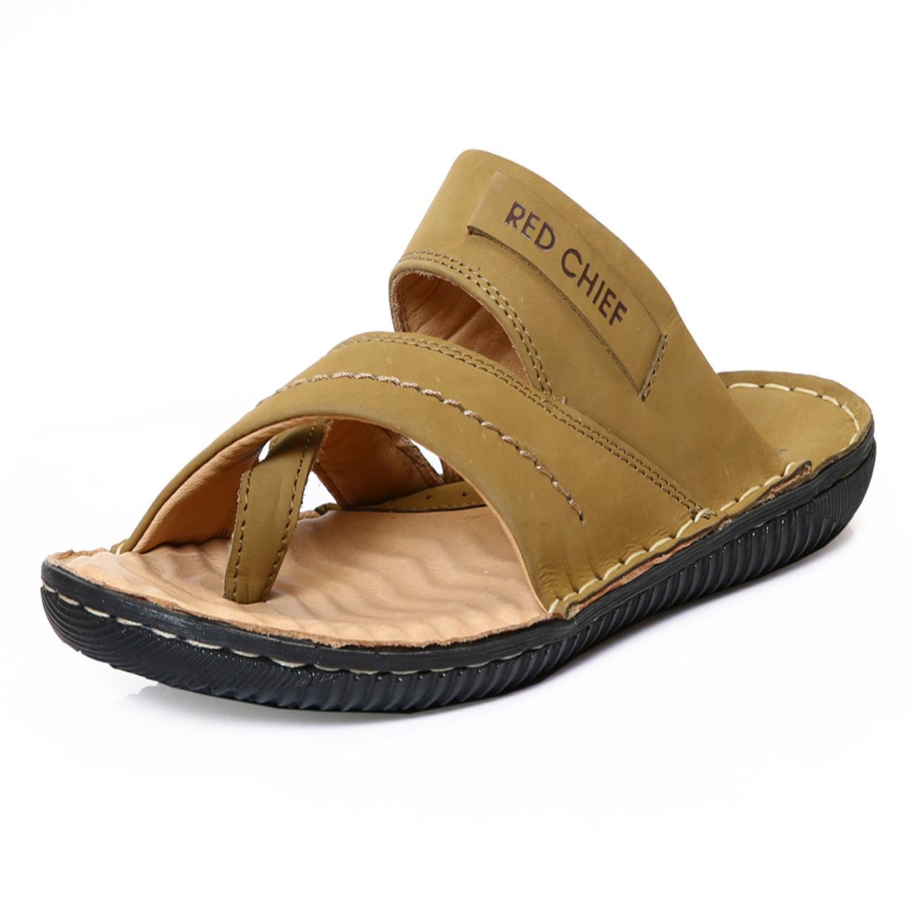 camel slip-on sandals online