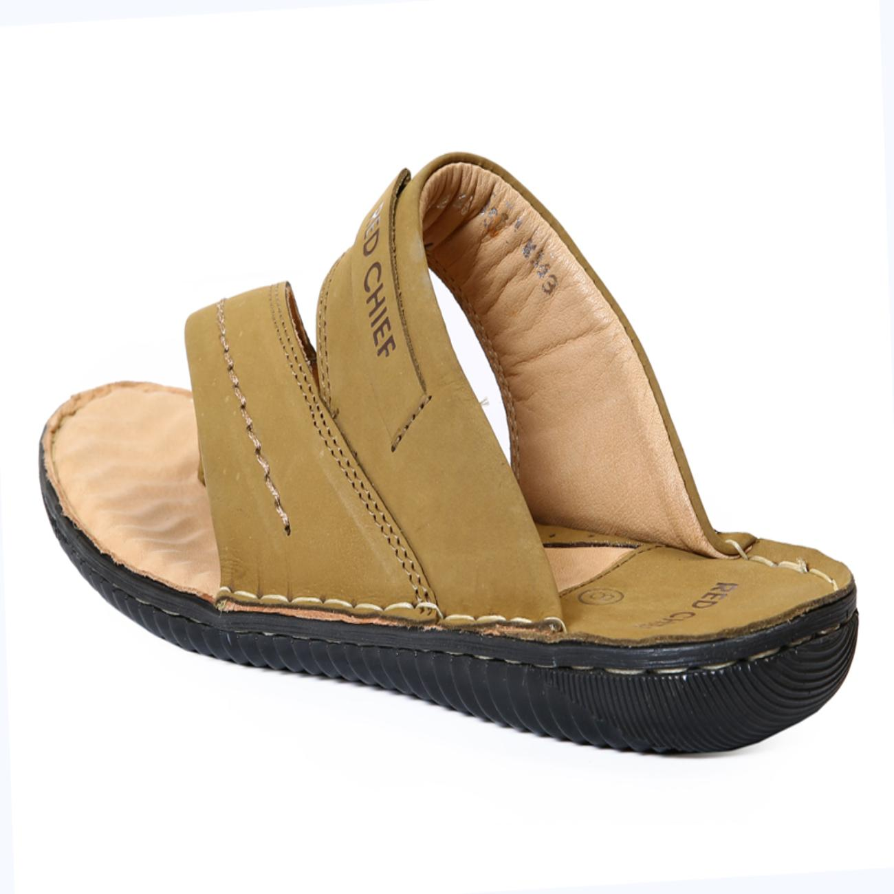 camel slippers by red cheif