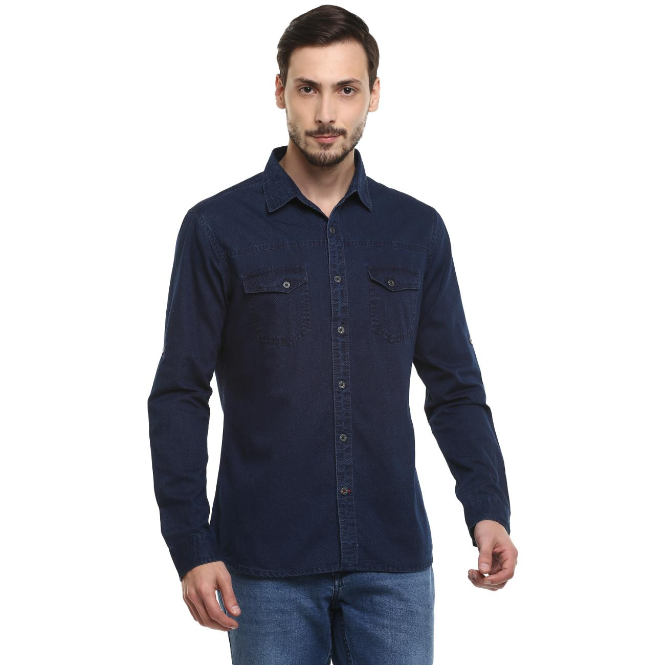 Blue Color Shirts from Red Chief