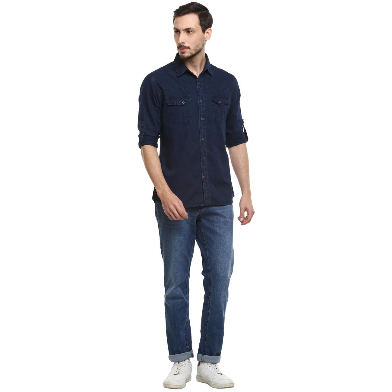 Denim Full Shirt