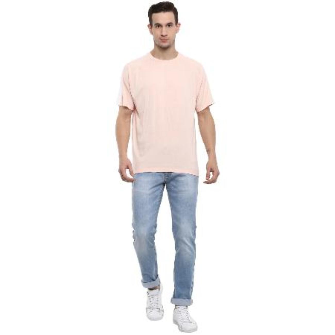 Mens LIght Pink Color TShirts