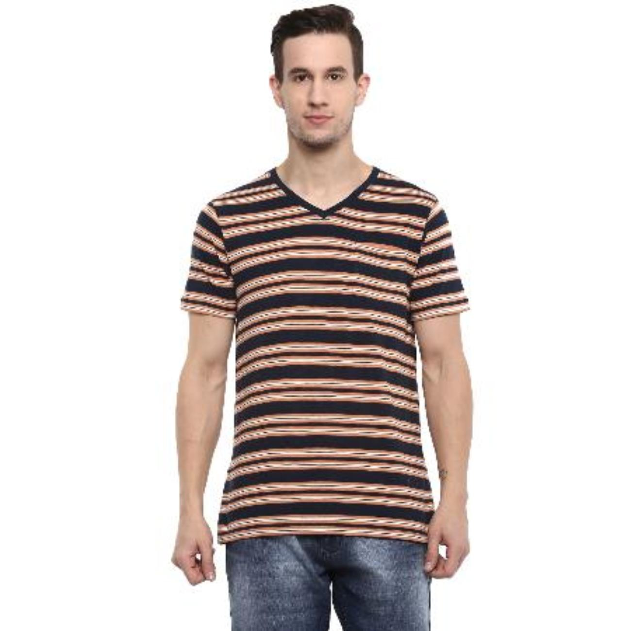 Mens Cotton Half Sleeves Tshirt from Red Chief