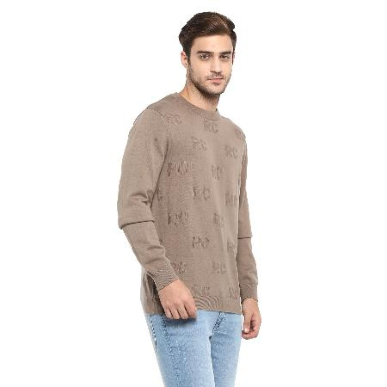 Brown Sweater from Red Chief for Men