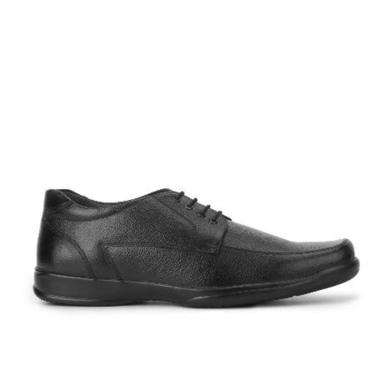 black formal shoes side view 1