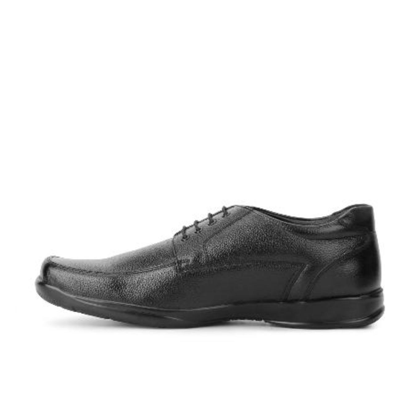 black formal shoes side view 2